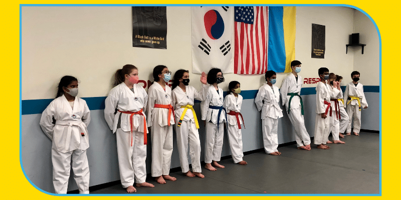 Belt Colors in Taekwondo