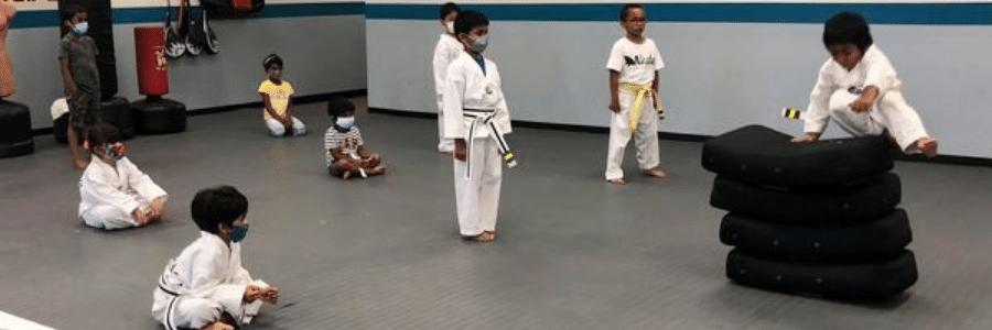 Akula Taekwondo Little Kickers